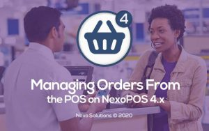 Managing Orders From The POS on NexoPOS 4.x