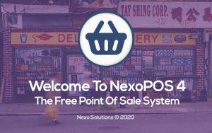 Welcome To NexoPOS 4