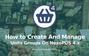 How To Create And Manage Units & Unit Groups