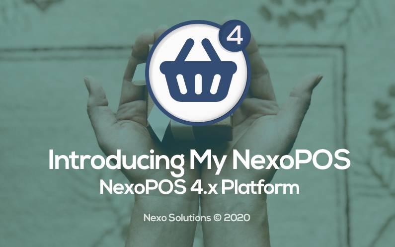 Introducing My NexoPOS for NexoPOS 4.x