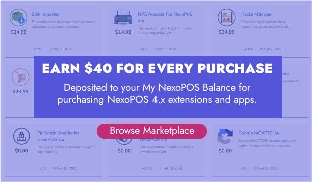 NexoPOS 4.x - POS, CRM & Inventory Manager - 2