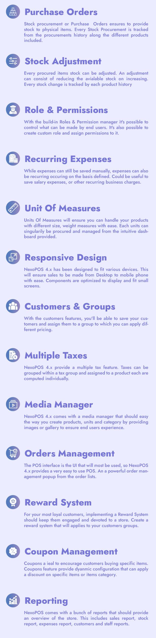 NexoPOS 4.x - POS, CRM & Inventory Manager - 3