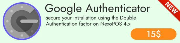 NexoPOS 4.x - POS, CRM & Inventory Manager - 5