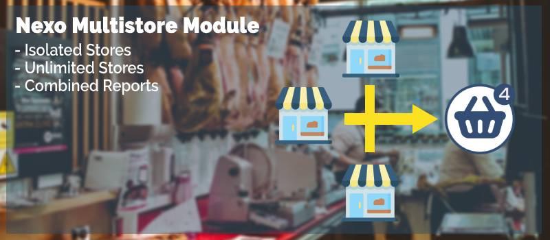 Nexo MultiStore Module